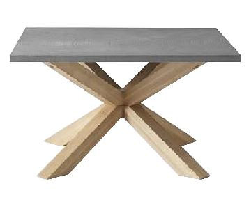 West Elm Slate Coffee Tables