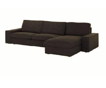 Ikea Kivik Sectional Sofa w/ Chaise