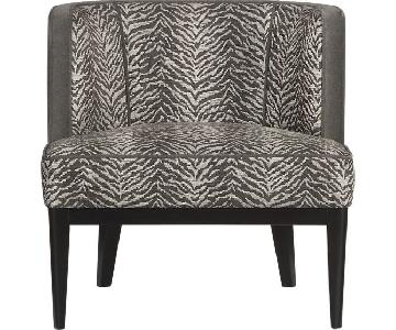 Crate & Barrel Grayson Accent Chair