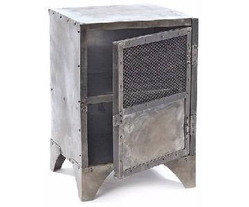 ABC Carpet and Home Industrial Metal End Table