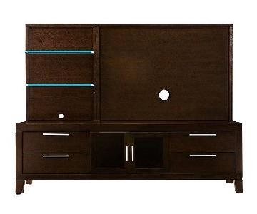 Raymour & Flanigan Archer 2-Piece Entertainment Center