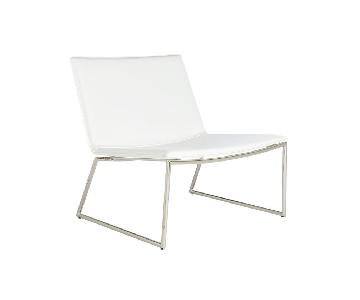 CB2 Triumph Chalk Lounge Chair