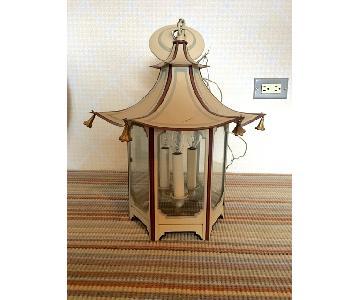 Mark Hampton Hanging Pagoda Lantern Light