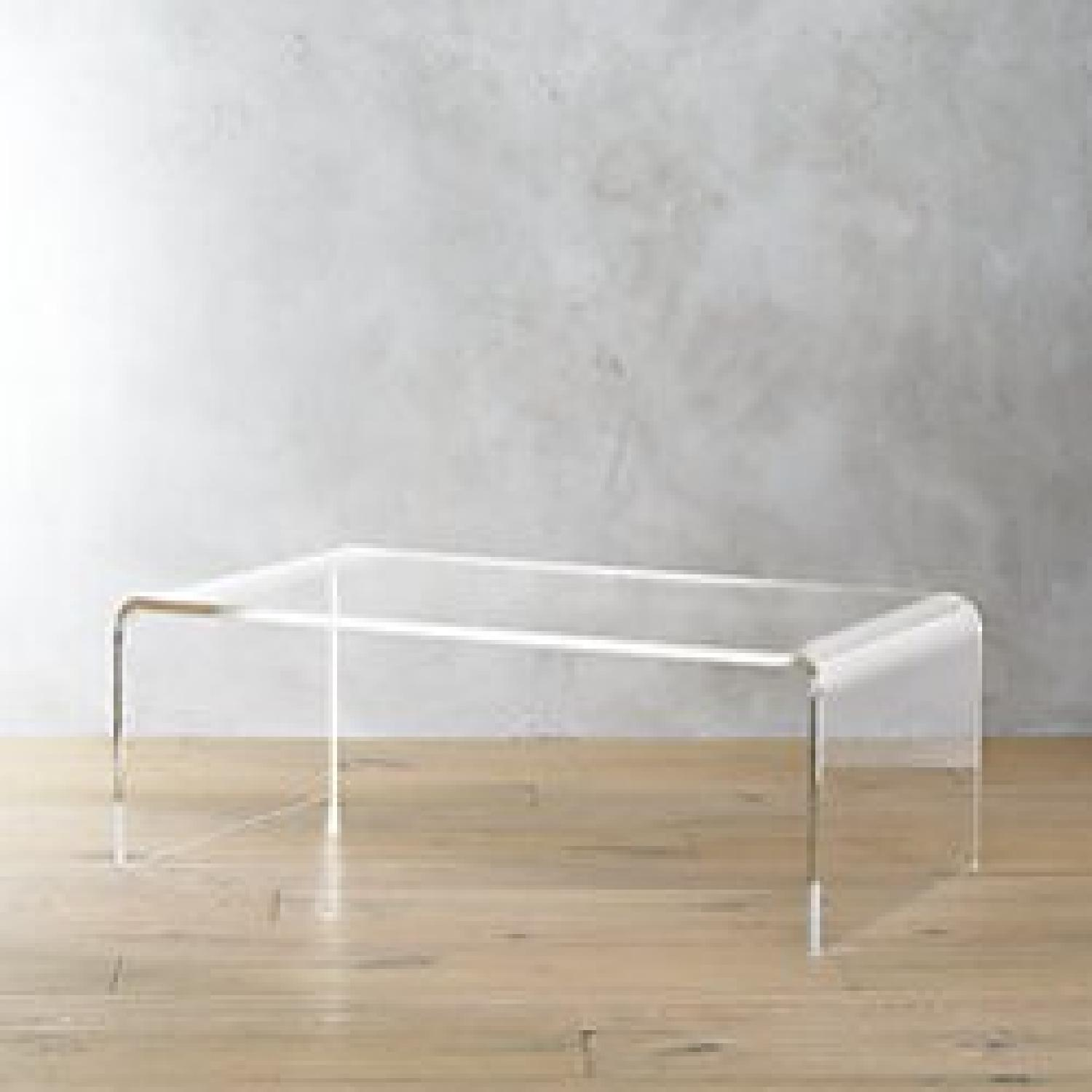 Cb2 Peekaboo Acrylic Coffee Table 0