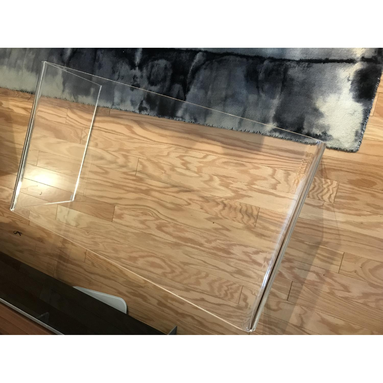 Cb2 Peekaboo Acrylic Coffee Table 1