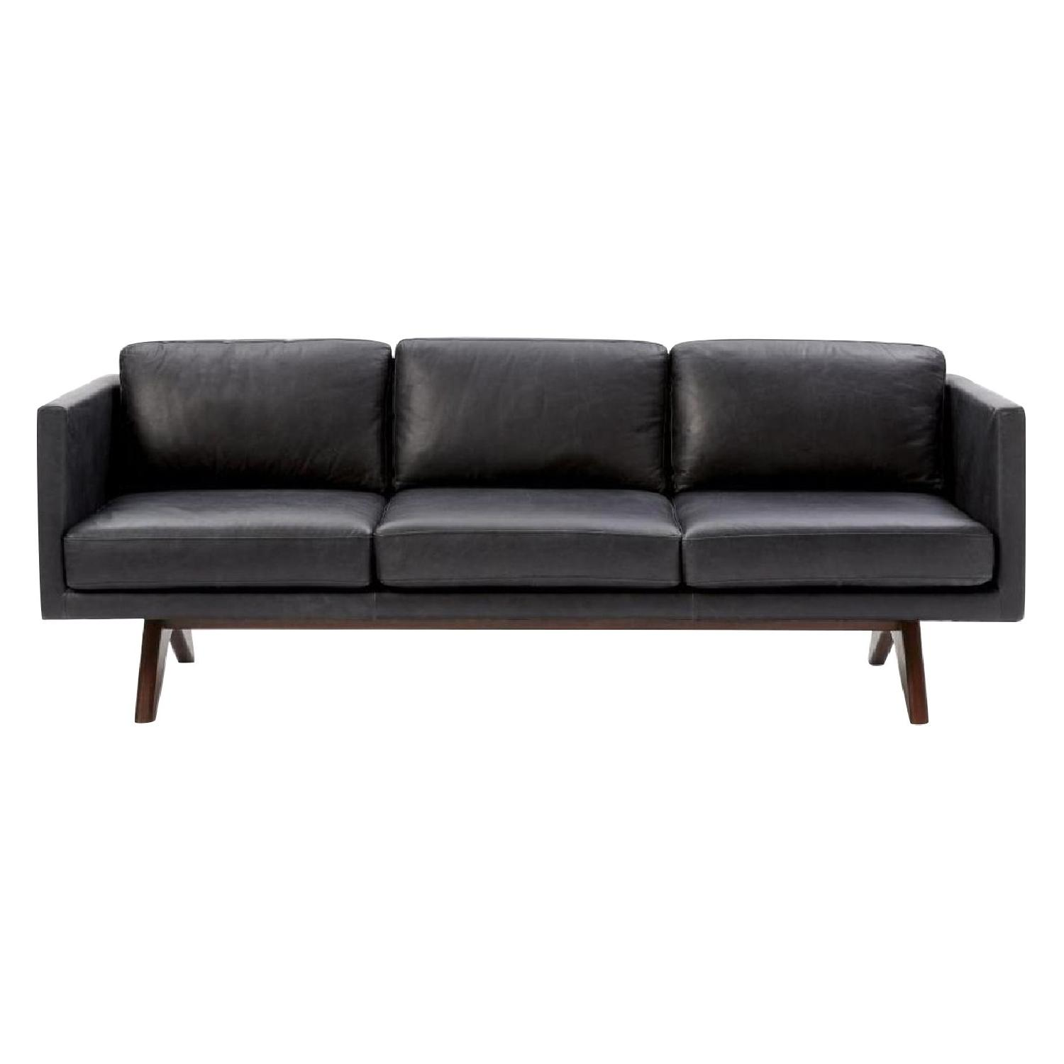 West Elm Brooklyn Leather Sofa ...