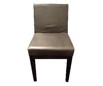 Restoration Hardware Morgan Leather Side Chairs