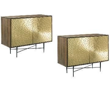 Designe Gallerie Wooden Cornell Chests