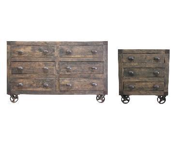 Designe Gallerie Wyatt Mango Wood Movable Chests