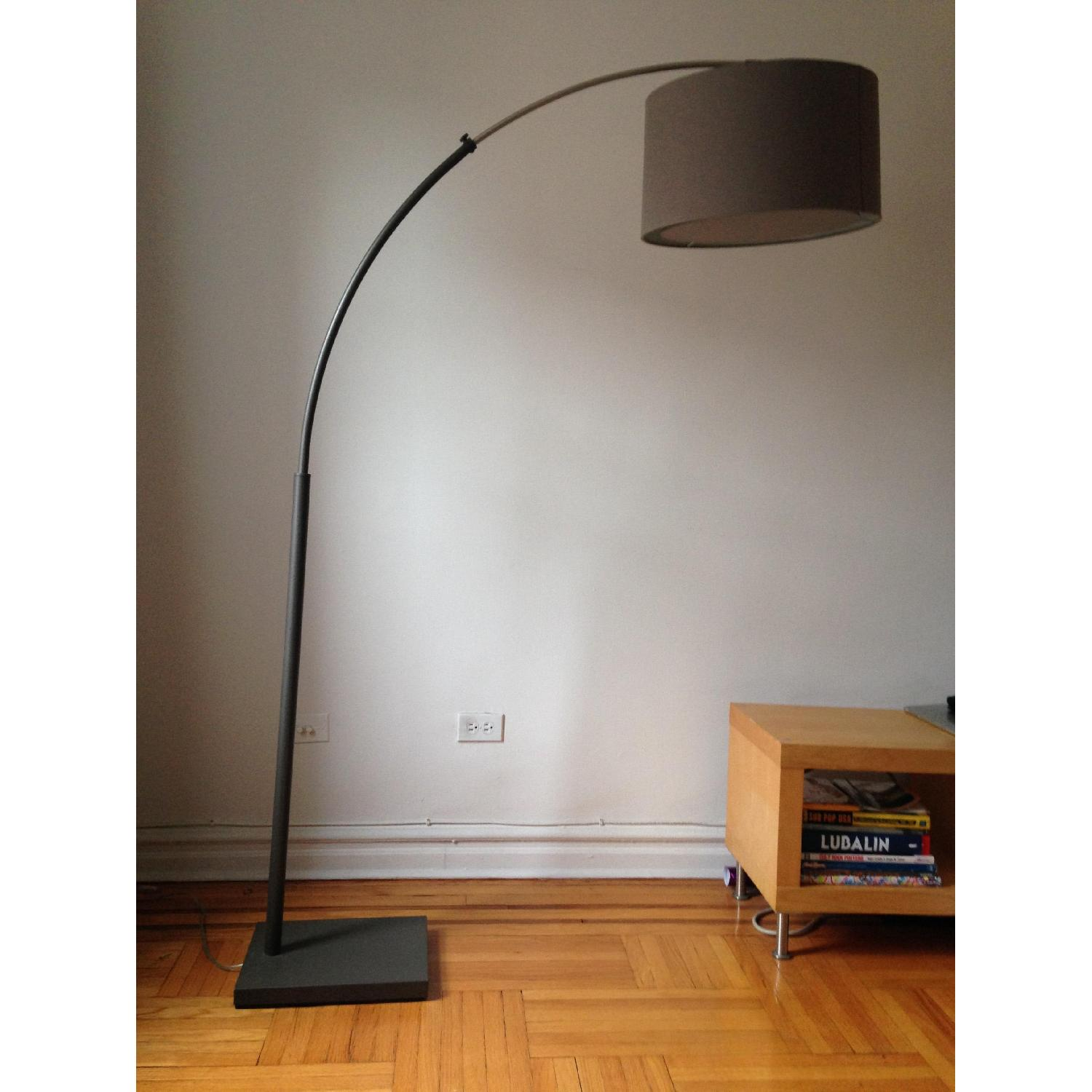 barrel lighting arc off lamp safavieh by floor lamps crate cosmos and