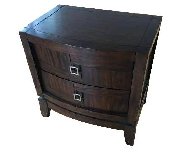 Raymour & Flanigan 2-Drawer Nightstand