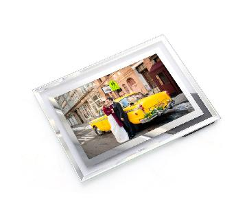 Glass Modern Photo Frame