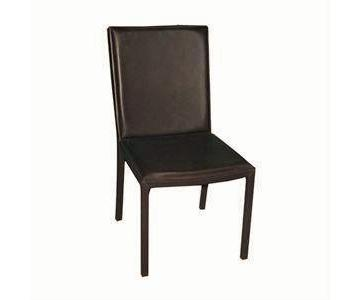 Maria Yee Leather Mondo Dining Chairs