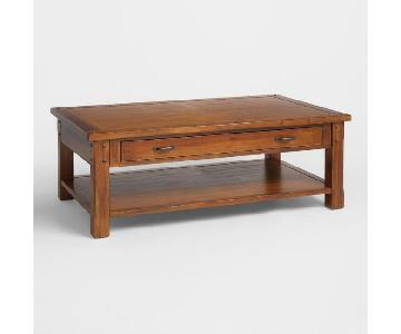 World Market Madera Coffee Table