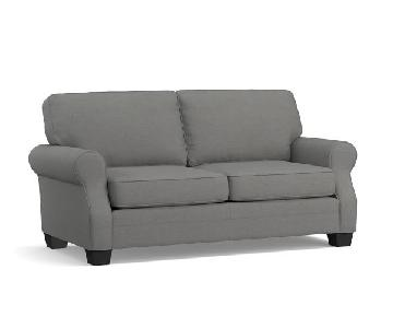 Pottery Barn SoMa Fremont Roll Arm Couch