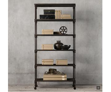 Restoration Hardware Dutch Industrial Double Shelving