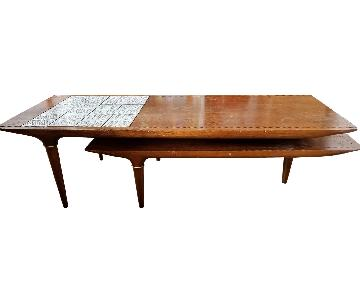 Lane Boomerang Mid Century Coffee Table
