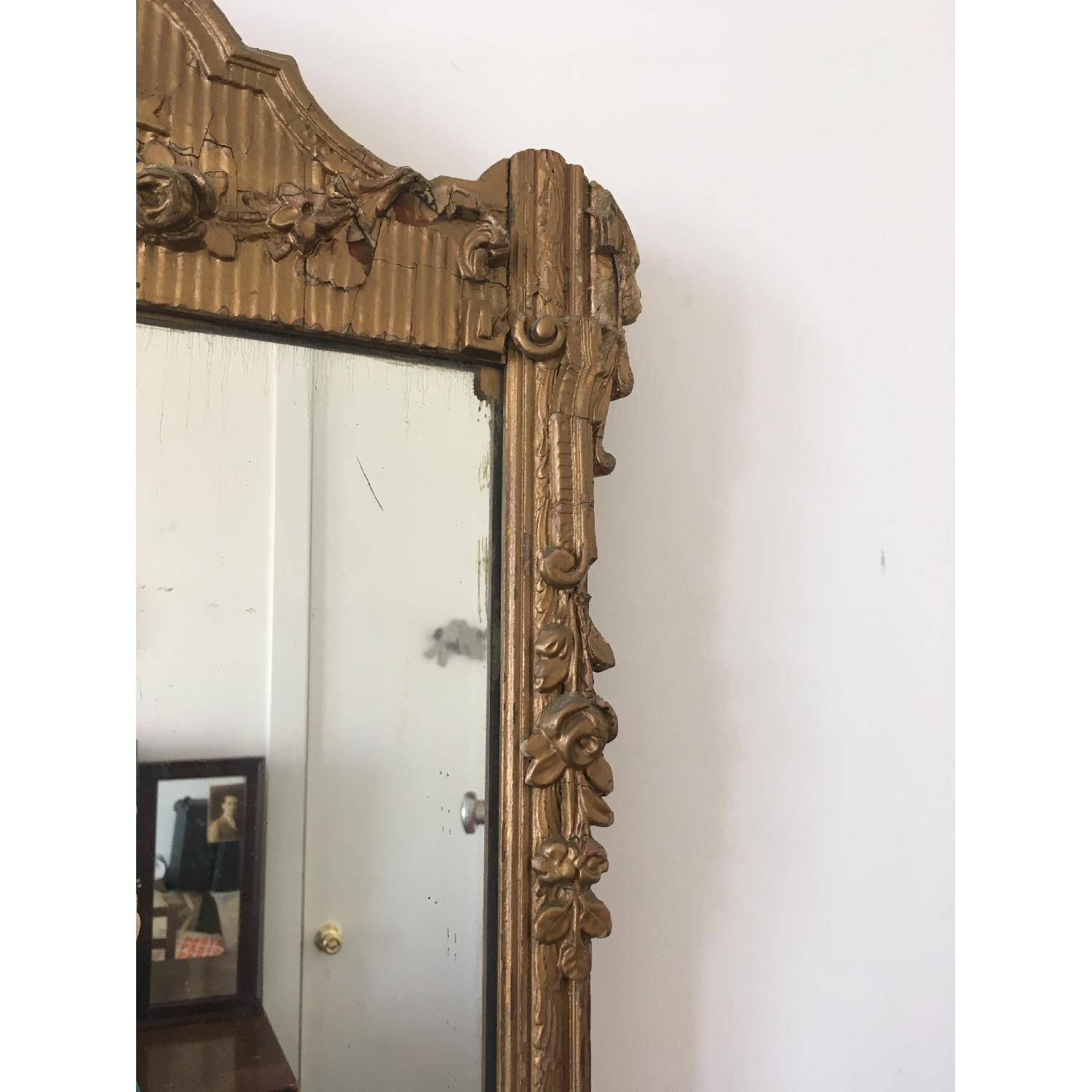 Antique Gold Framed Wall Mirror-1
