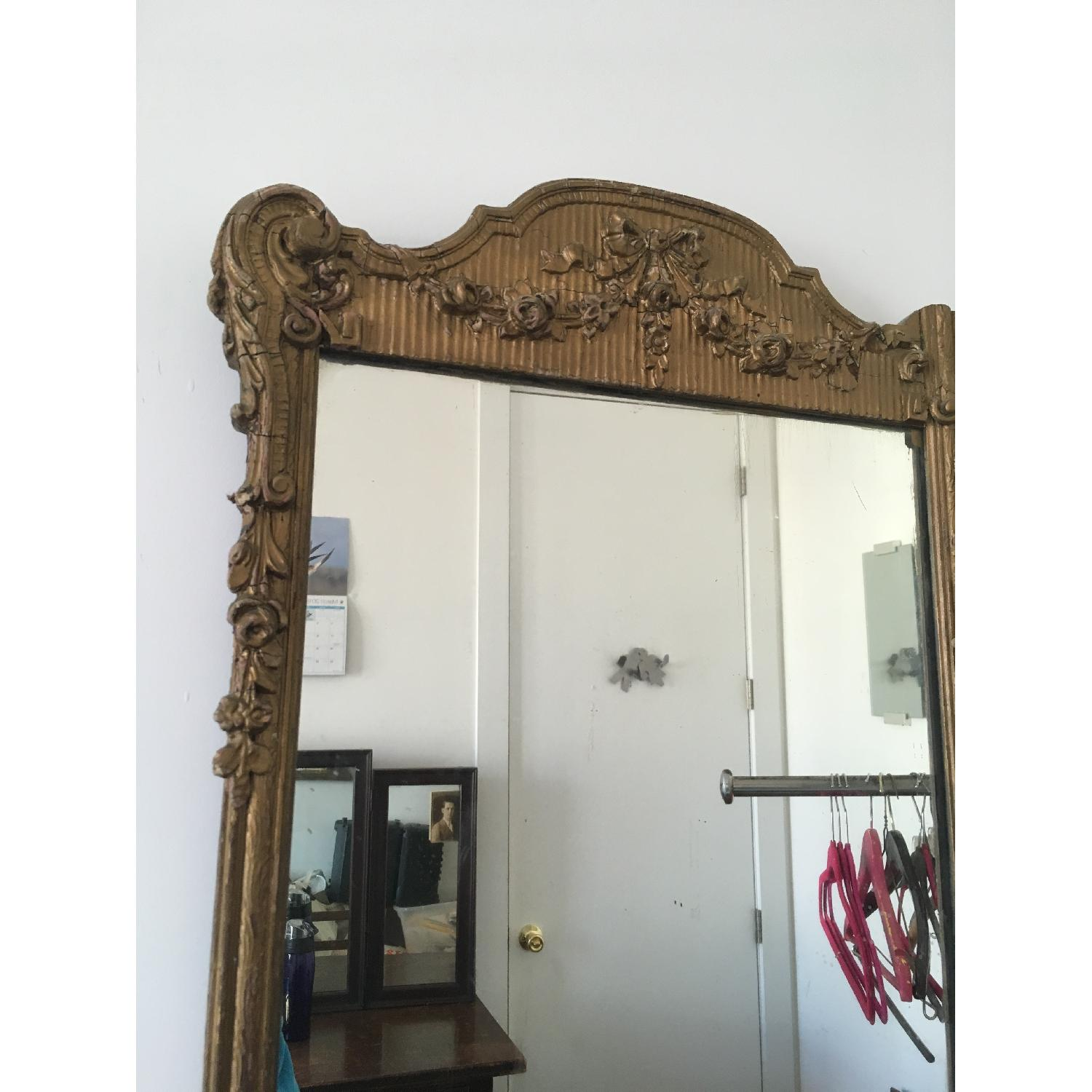 Antique Gold Framed Wall Mirror-2