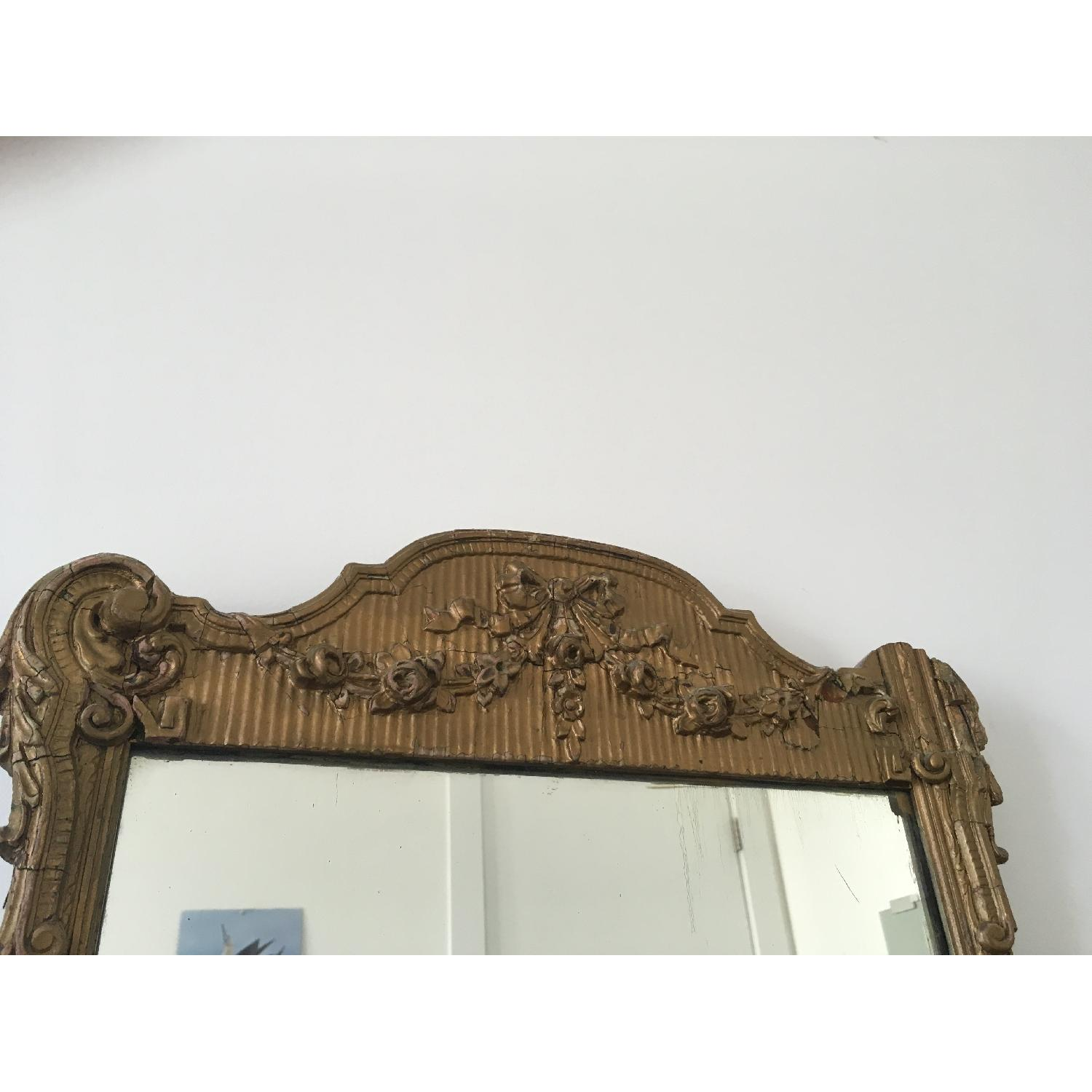 Antique Gold Framed Wall Mirror-3