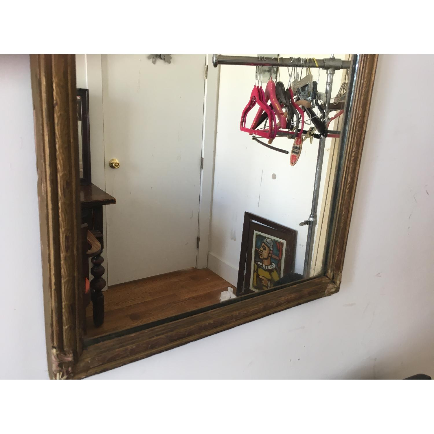 Antique Gold Framed Wall Mirror-4