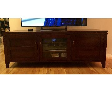 Crate & Barrel Kingston Media Console