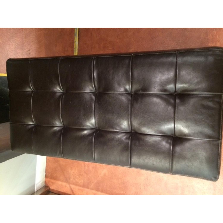 Leather Ottoman - image-3