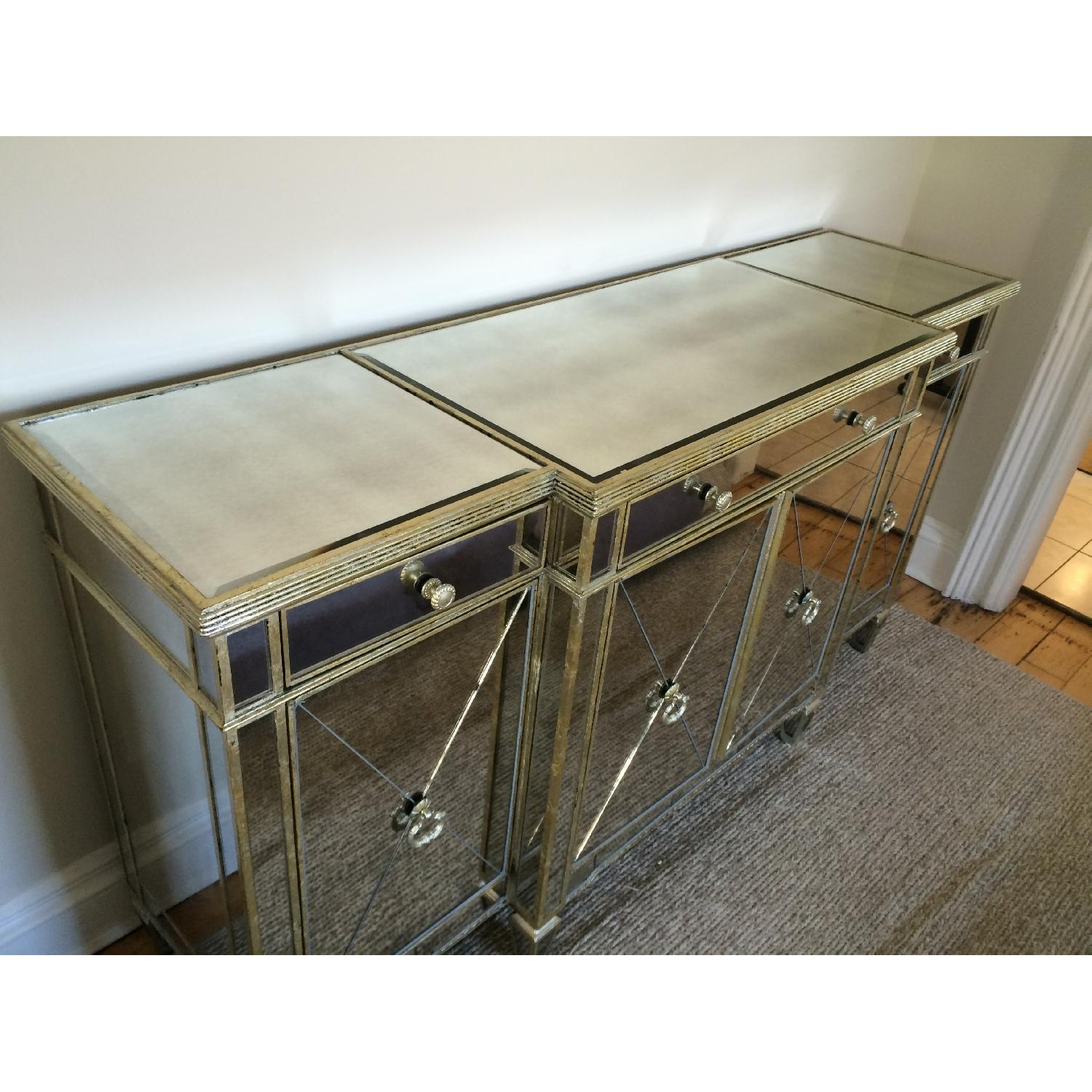Horchow Mirrored Console - image-3