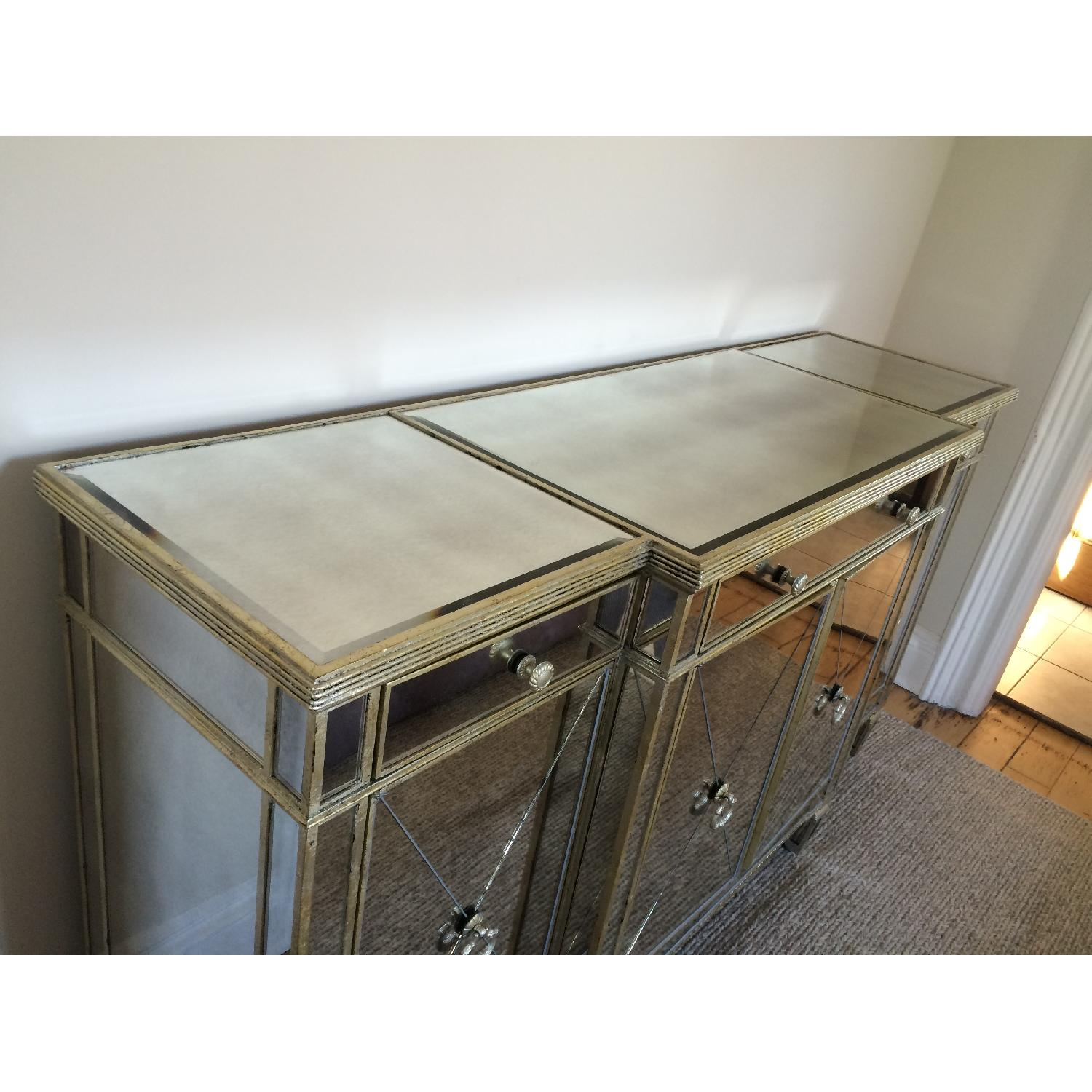 Horchow Mirrored Console - image-6