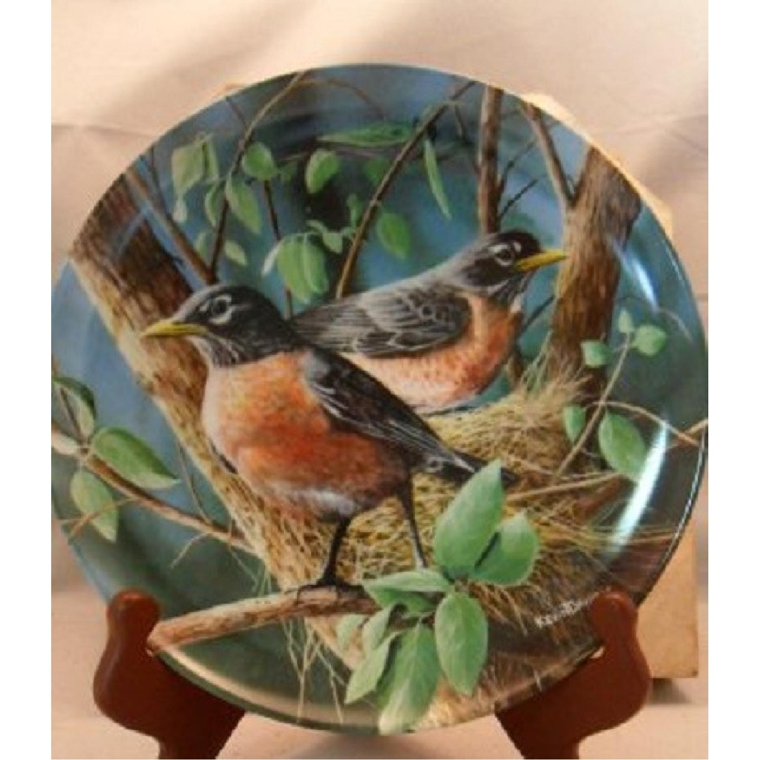 Collector's Edition Edwin M. Knowles Decorative Plates - image-1
