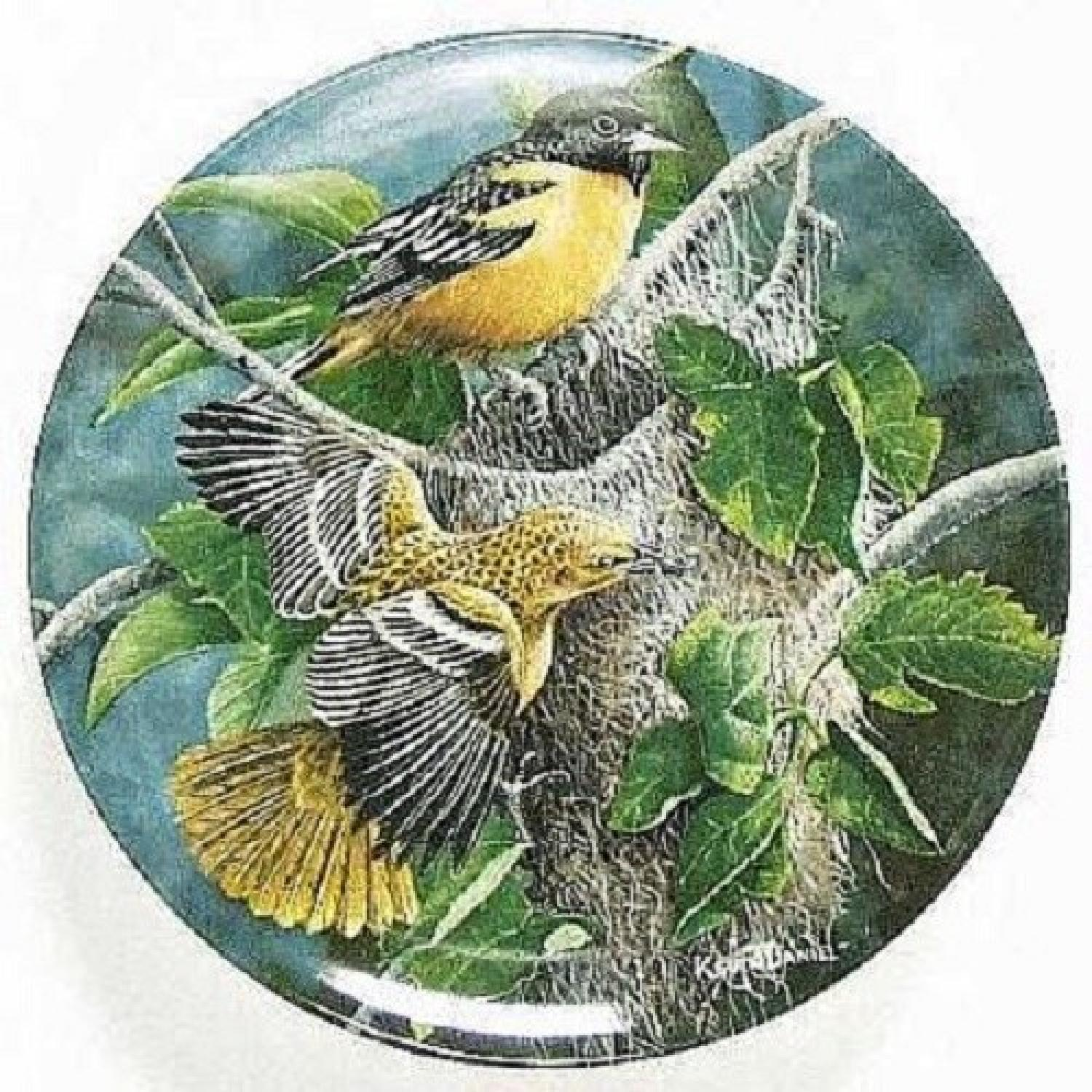 Collector's Edition Edwin M. Knowles Decorative Plates - image-5