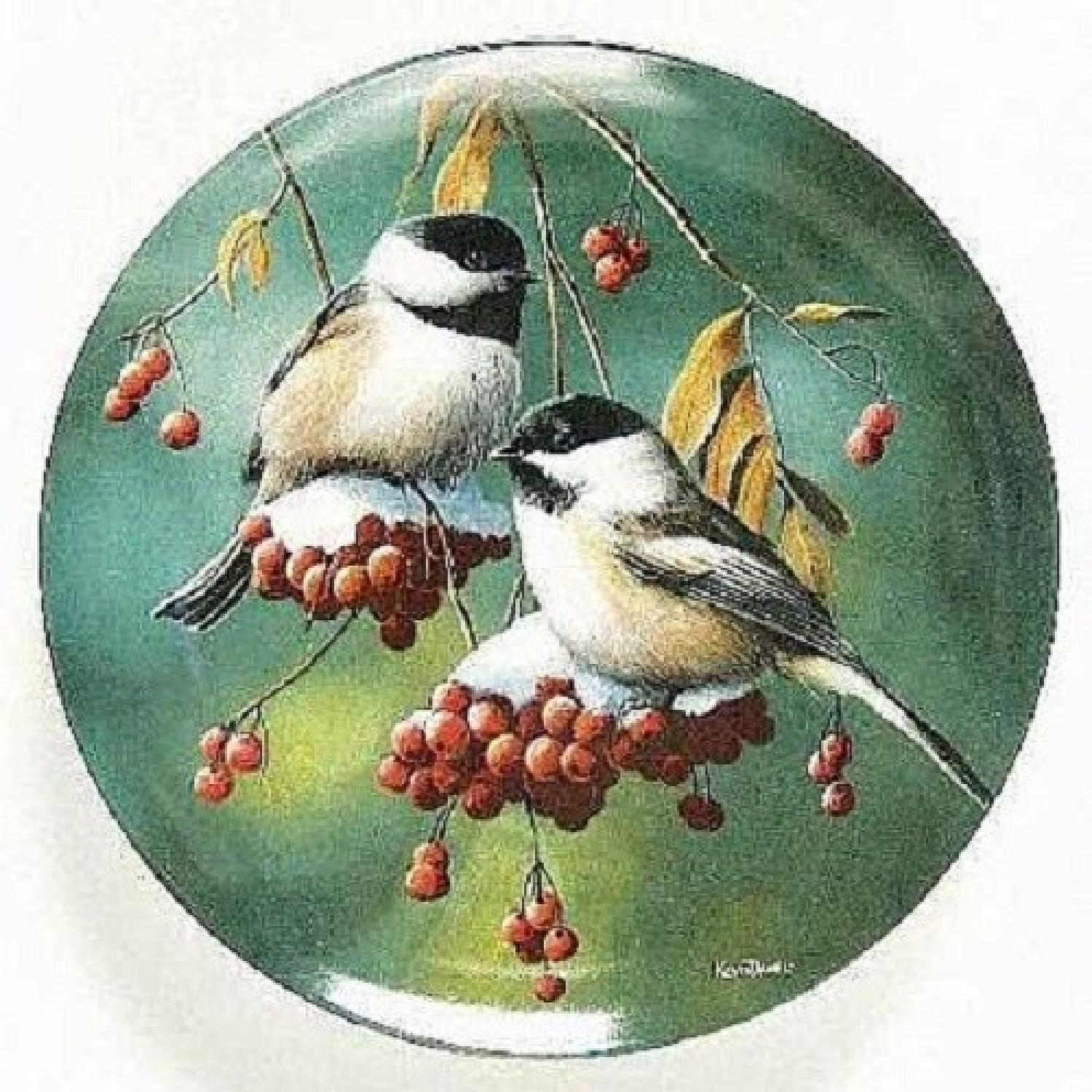 Collector's Edition Edwin M. Knowles Decorative Plates - image-6