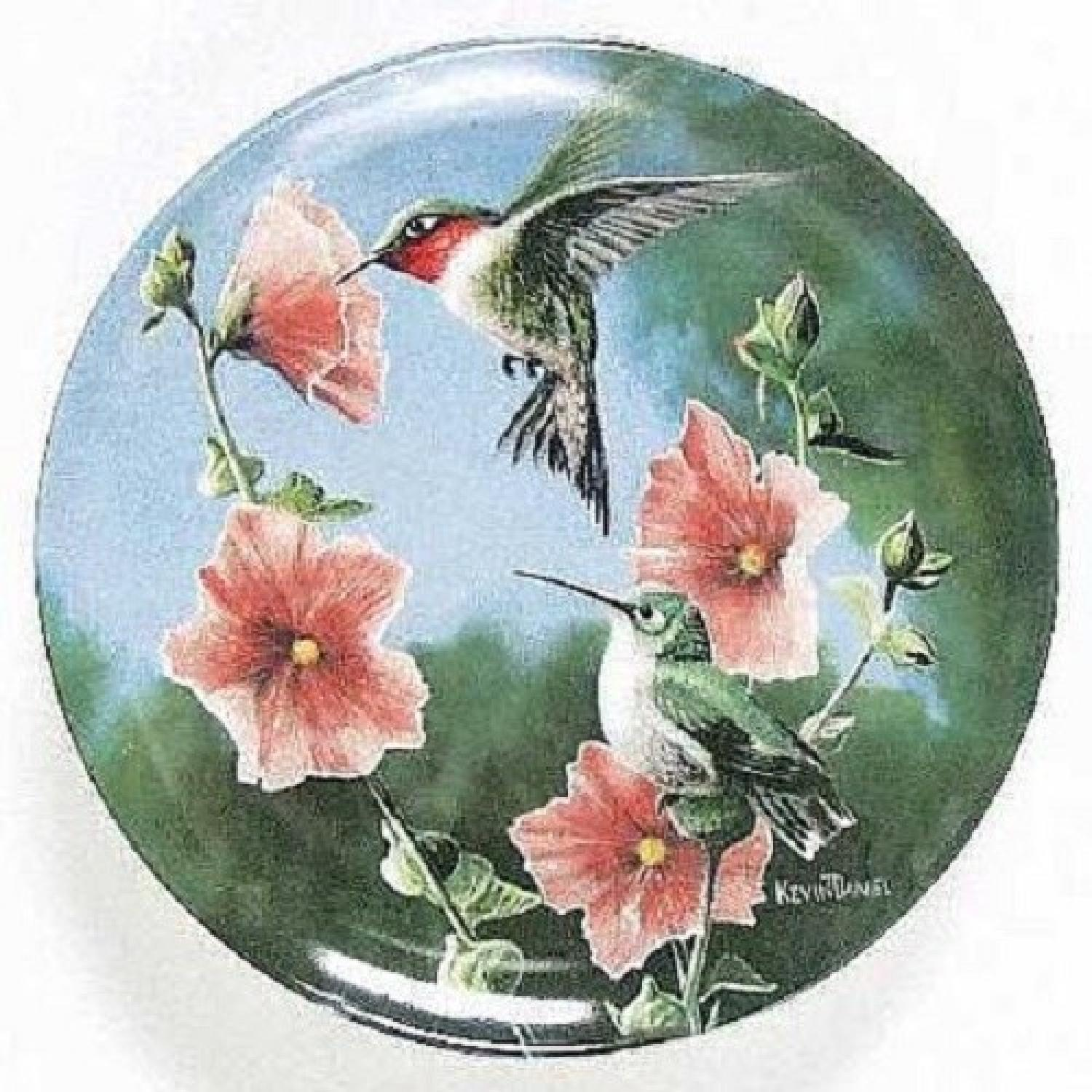 Collector's Edition Edwin M. Knowles Decorative Plates - image-0