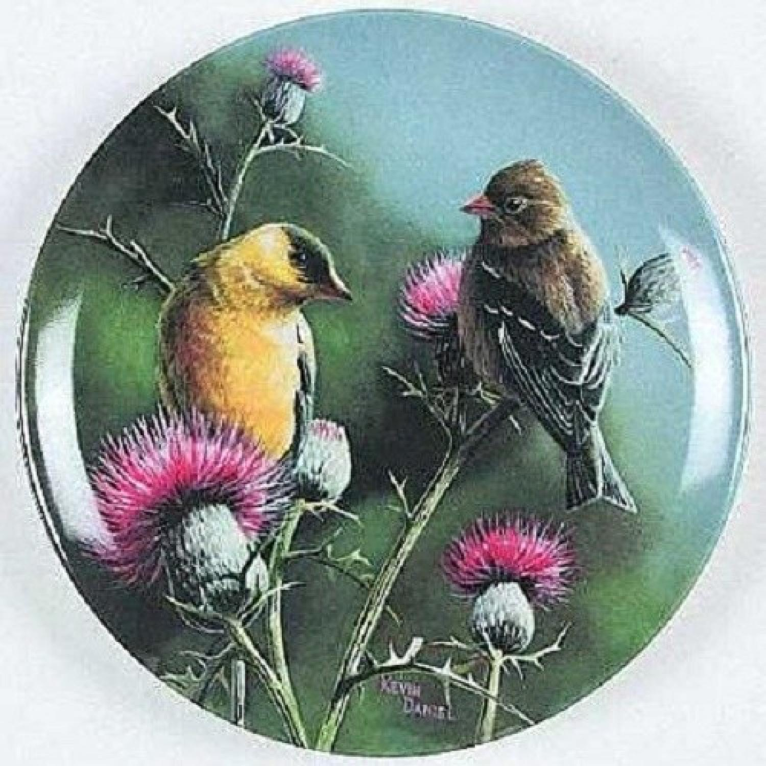 Collector's Edition Edwin M. Knowles Decorative Plates - image-7