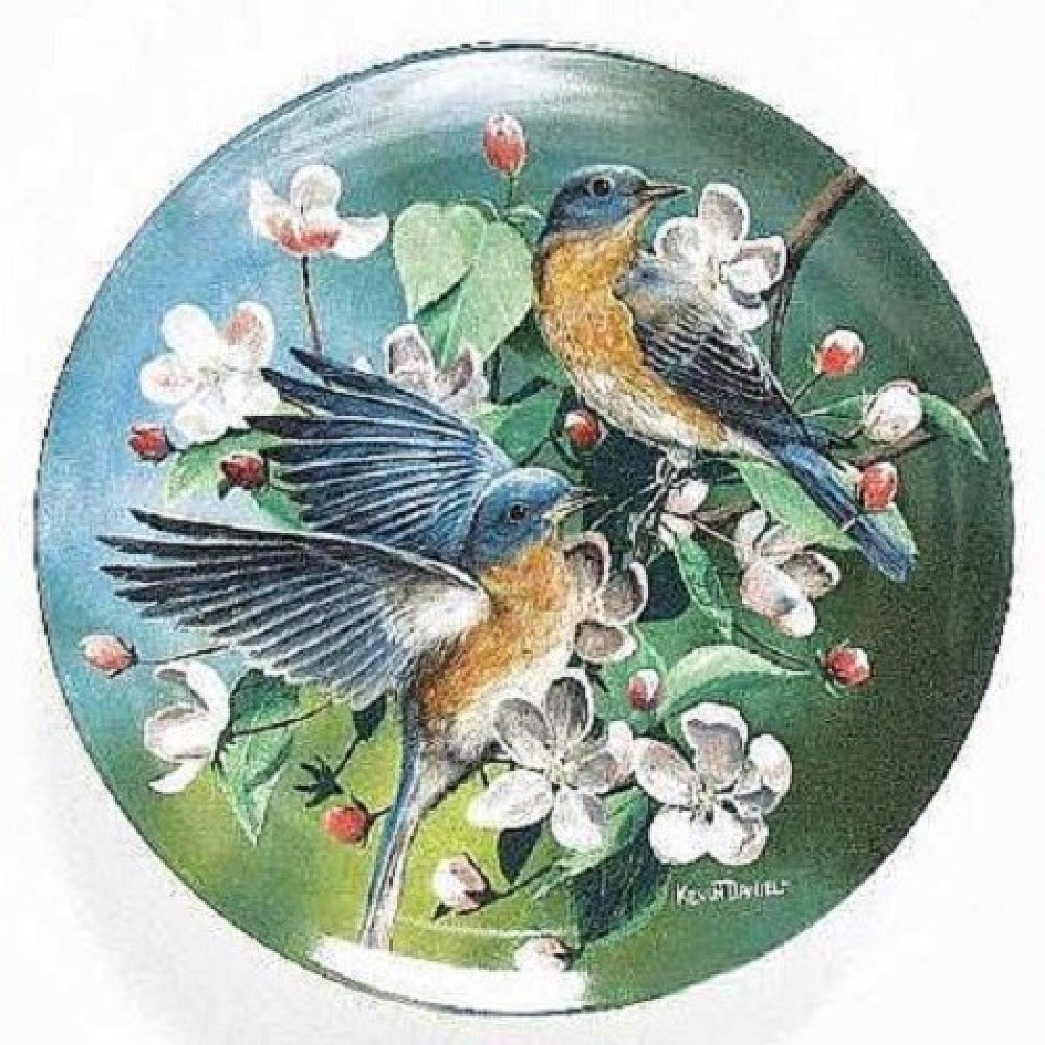 Collector's Edition Edwin M. Knowles Decorative Plates - image-10