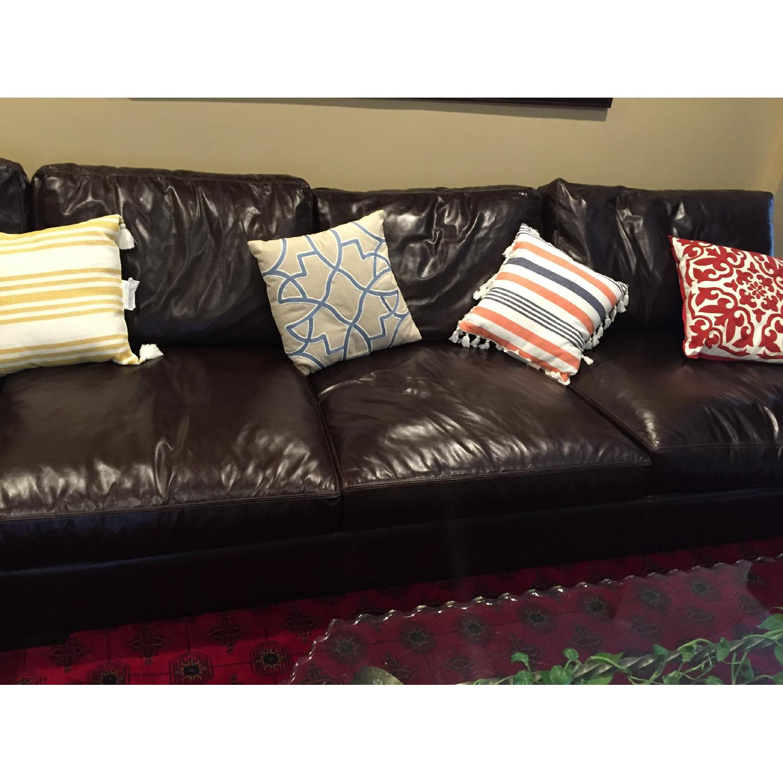 Braxton Leather Sectional Sofa - image-4