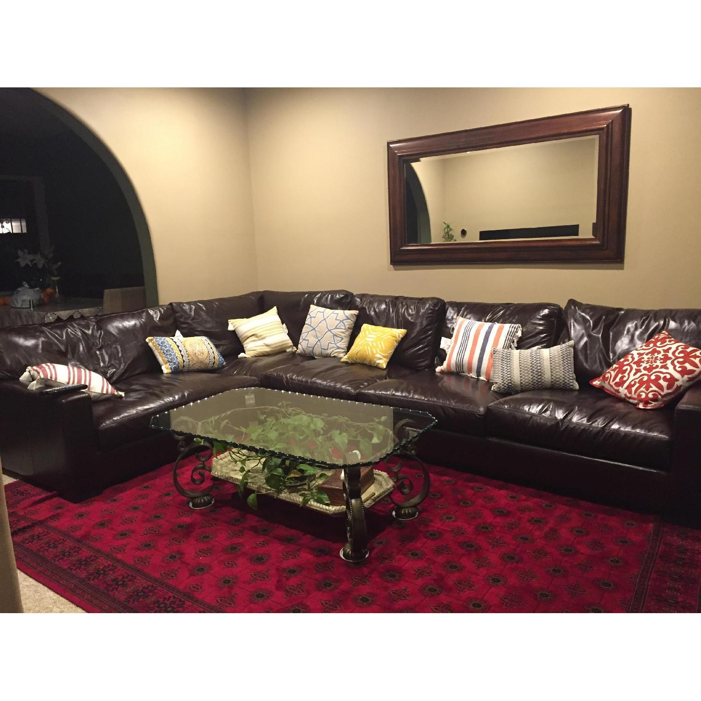 Braxton Leather Sectional Sofa - image-6