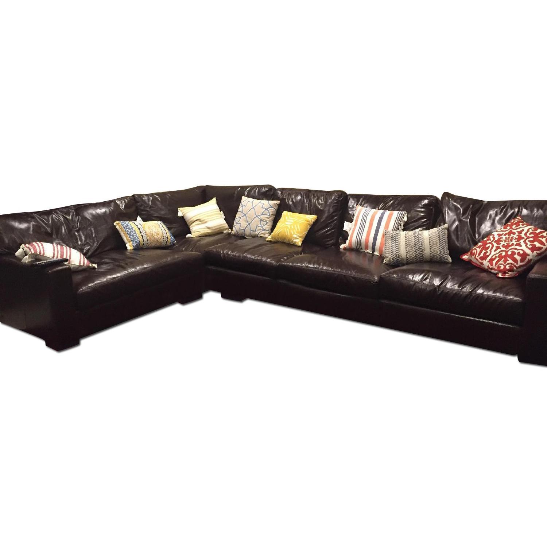 Braxton Leather Sectional Sofa - image-0