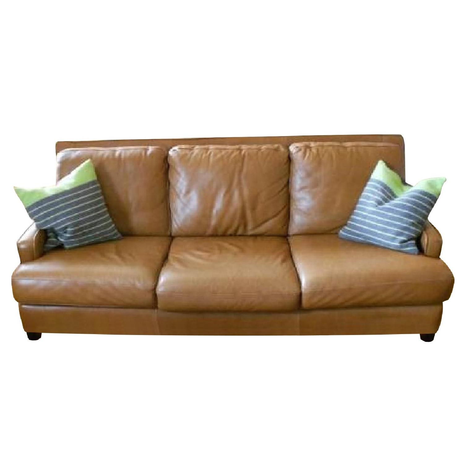 Leather Couch - image-0