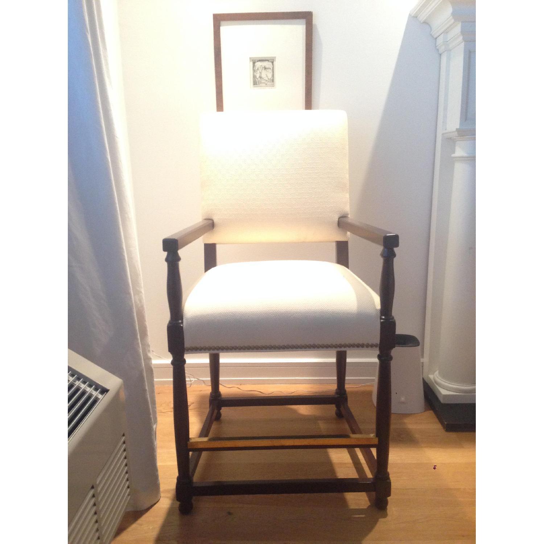 Custom David Kleinberg Stool/Accent Chair - image-1