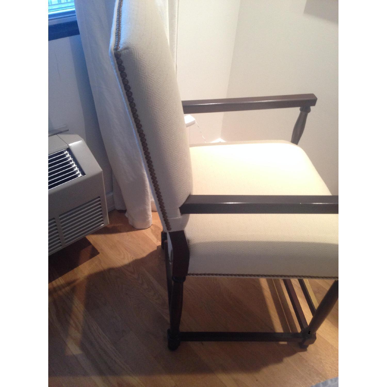 Custom David Kleinberg Stool/Accent Chair - image-4