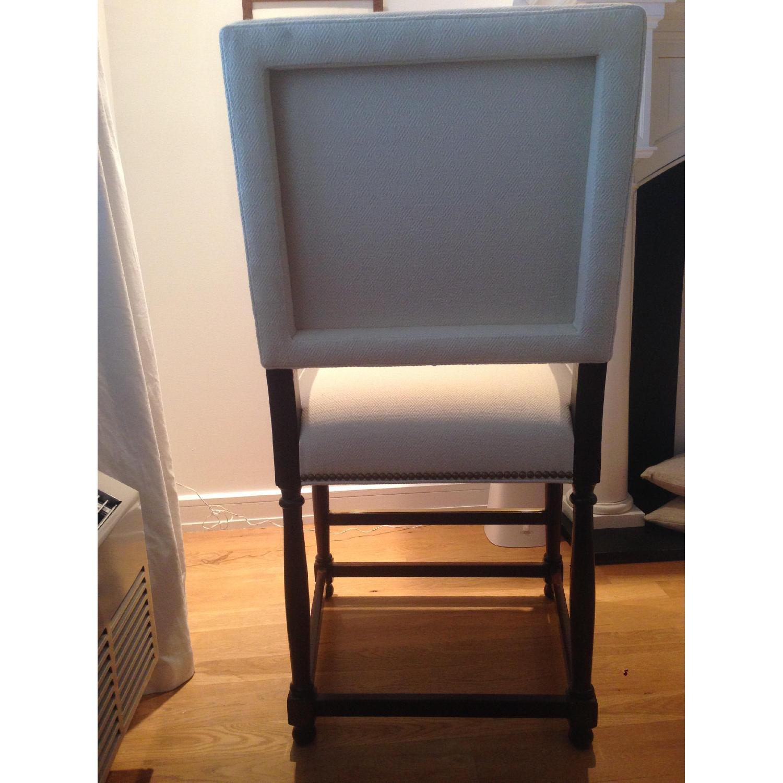 Custom David Kleinberg Stool/Accent Chair - image-5