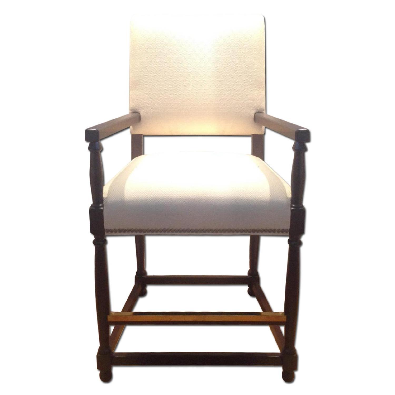 Custom David Kleinberg Stool/Accent Chair - image-0