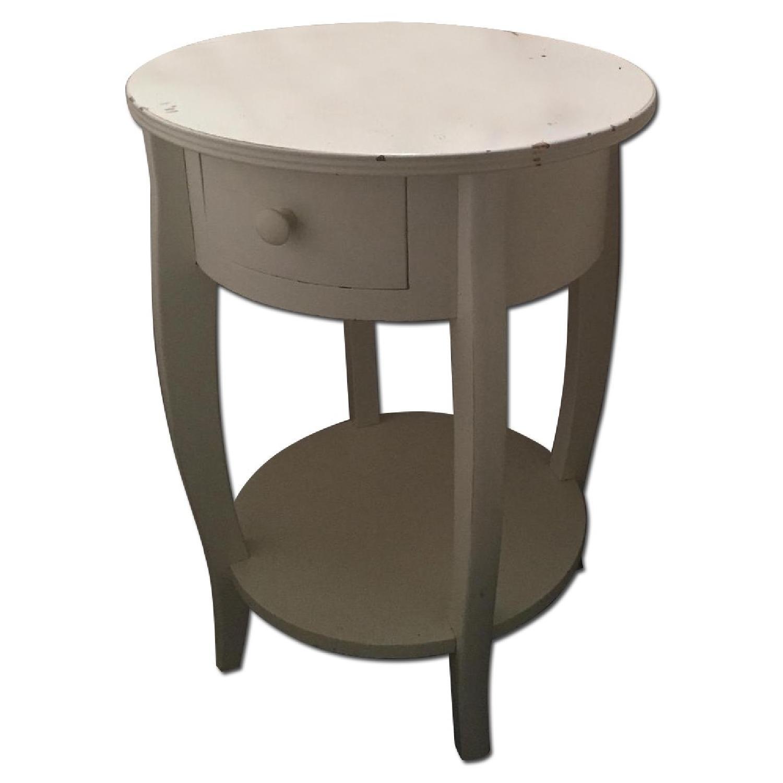 Pottery Barn Bedside Table - image-0