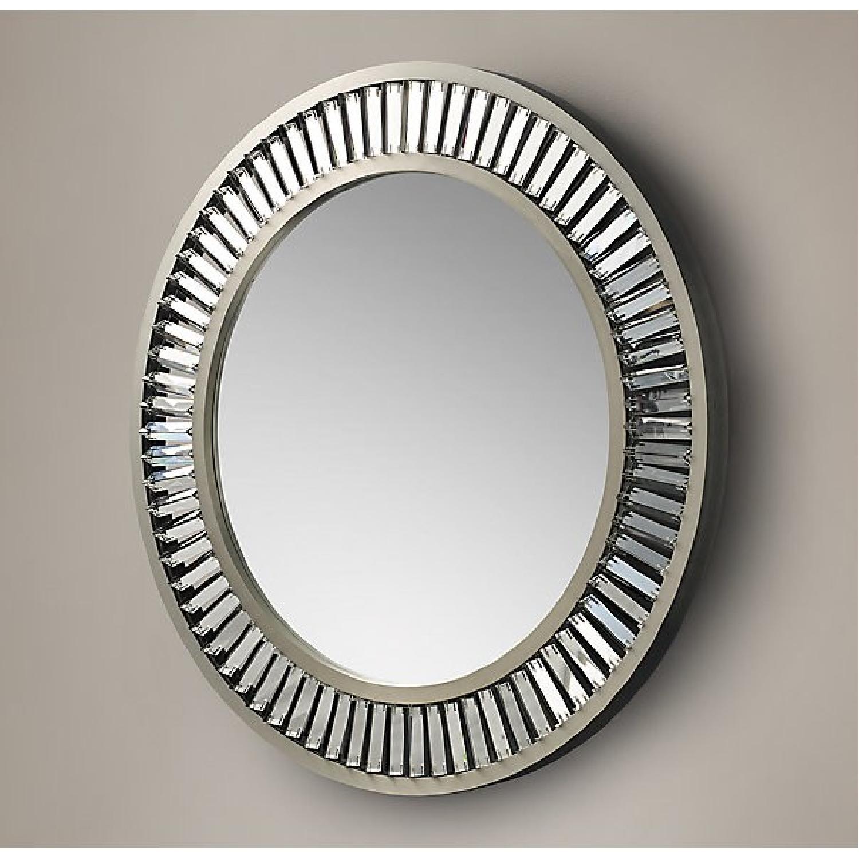 Restoration Hardware Lombard Prism Round Mirror - image-3