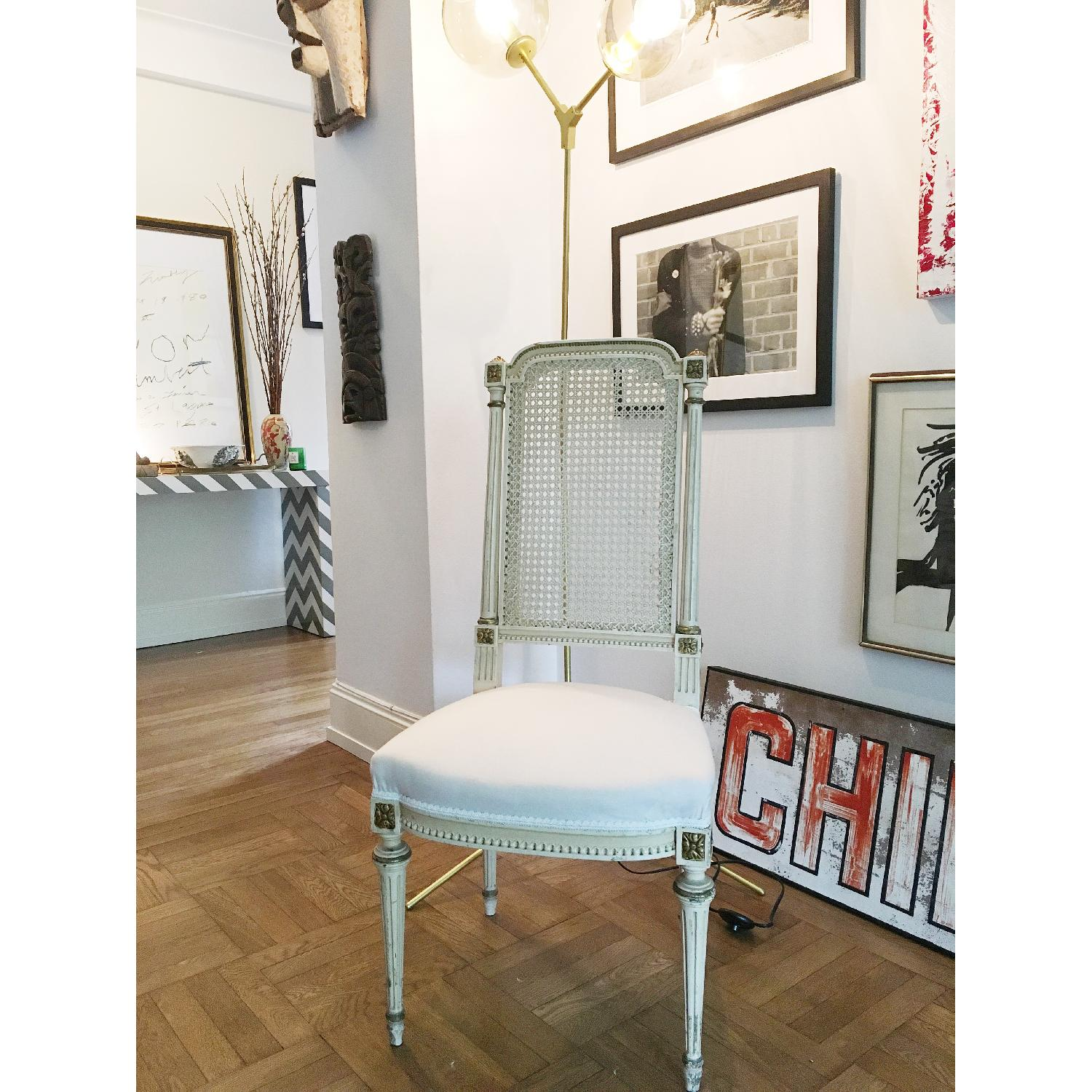 Antique French Traditional Dining Chairs - image-7