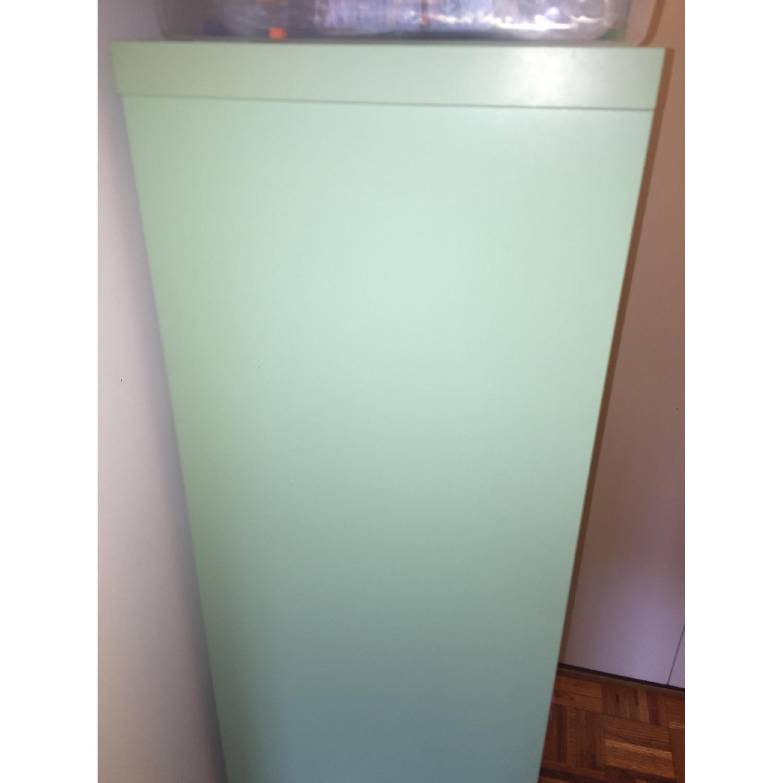 Ikea Box Shelving Unit in Mint Color - image-1