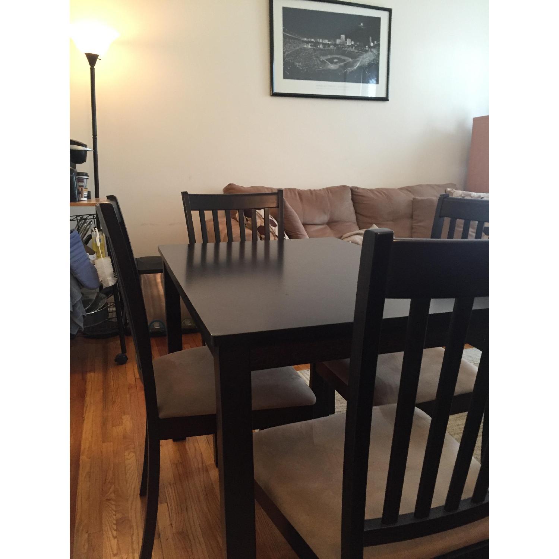 5 Piece Cappuccino Dining Set - image-4