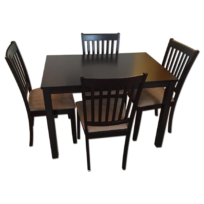 5 Piece Cappuccino Dining Set - image-0