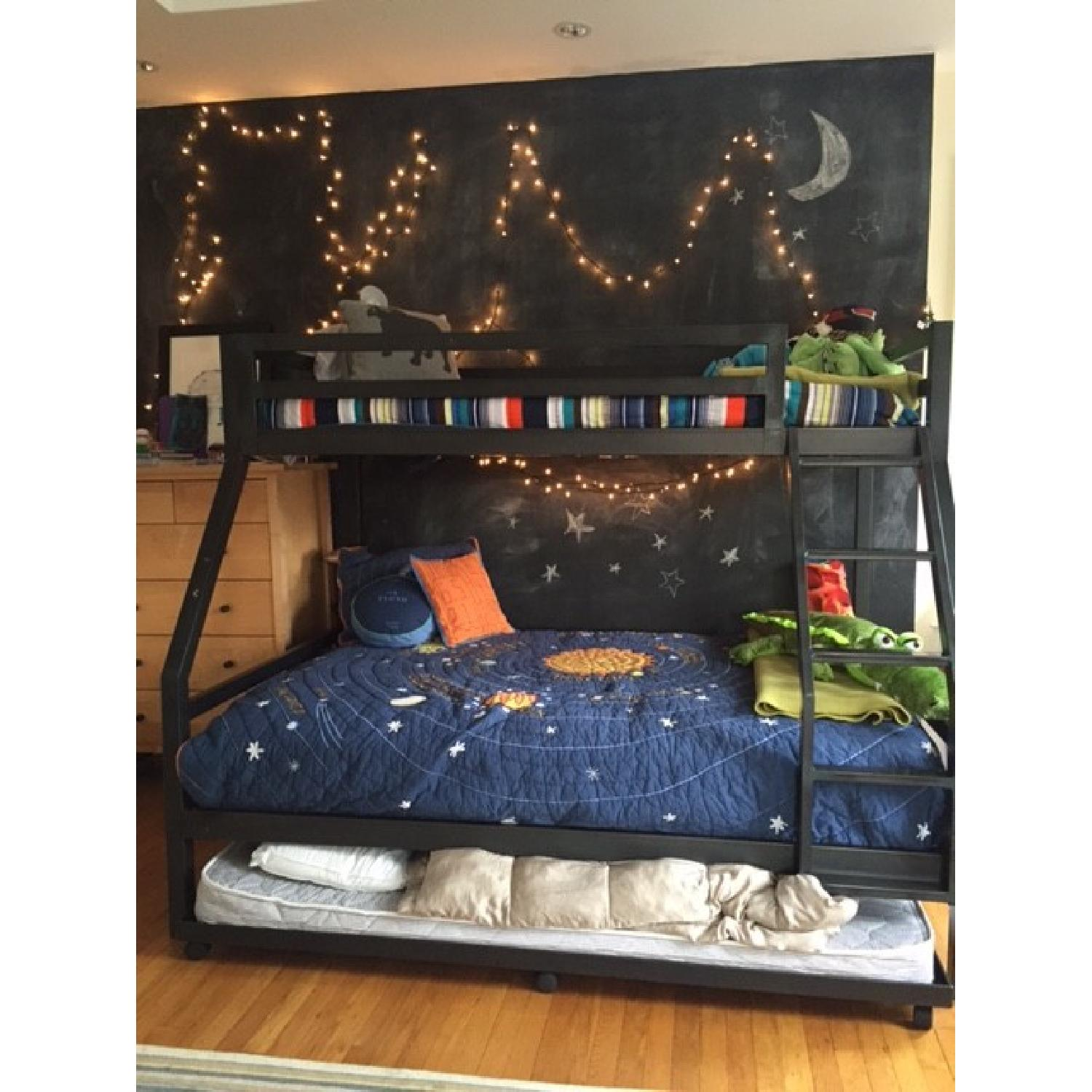 Room & Board Bunk Beds w/ Trundle - image-1